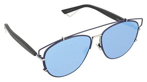 Dior DIORTECHNOLOGIC A4 PQU Gafas de sol, Azul (BLUEE BLACK/AZURE), 57 Unisex Adulto