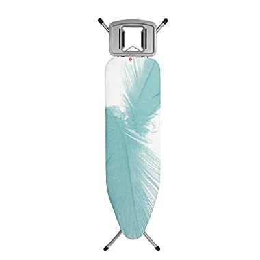 Brabantia Ironing Board with Solid Steam Iron Rest, Size B, Standard - Feathers Cover