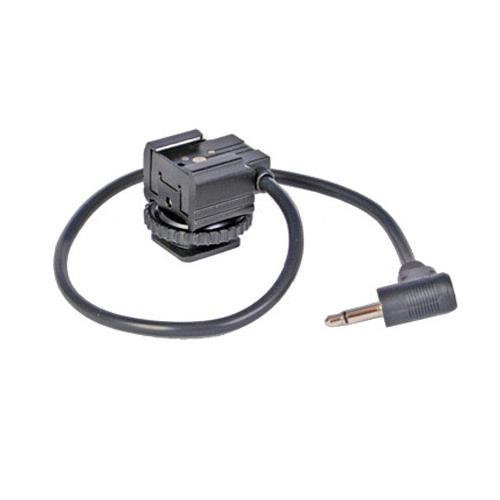 """RPS Hot Shoe to 3.5mm Mini Plug for Pocket Wizard with 12"""" Cord - (Equivalent of Pocket Wizard MHSF1 Cord)"""