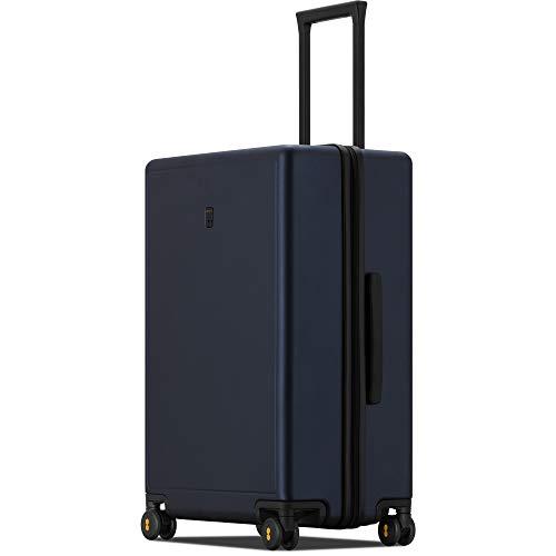 LEVEL8 Valigia Hardside PC Matte Hard Shell Bagagli per trasporto e check-in con TSA Lock, Ruote Spinner, Allegro (blu) - LP-9861M-06T00