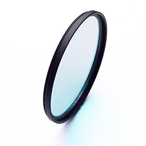 25 30 37 39 40 40.5 43 46 49 52 55 58 62 67 72 77 82 mm 370-670nm 400-700nm UV IR Corte Filtro de Lentes Infrarrojos para cámara DSLR (Caliber : 49mm, Color : 370 670nm)