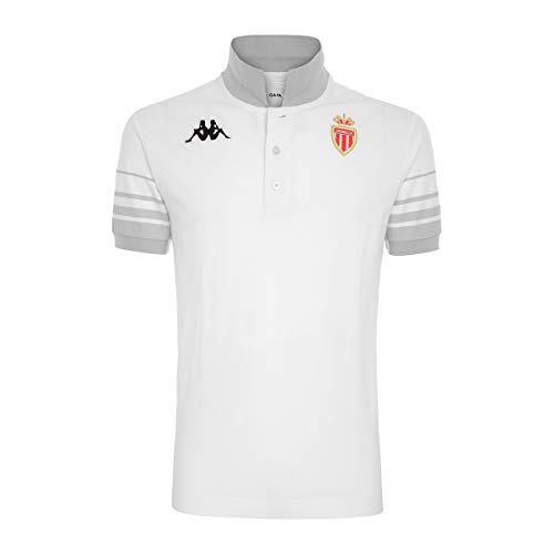 Kappa ASCHBY MONACO T-shirt Homme Blanc/Gris XL