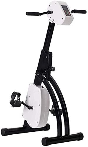 MFLASMF Máquina de rehabilitación eléctrica, Bicicleta Plegable, Entrenador de Ejercicios con Pedal, Fisioterapia electrónica, Bicicleta de Ejercicios, máquina para ejercitar Brazos y Pier