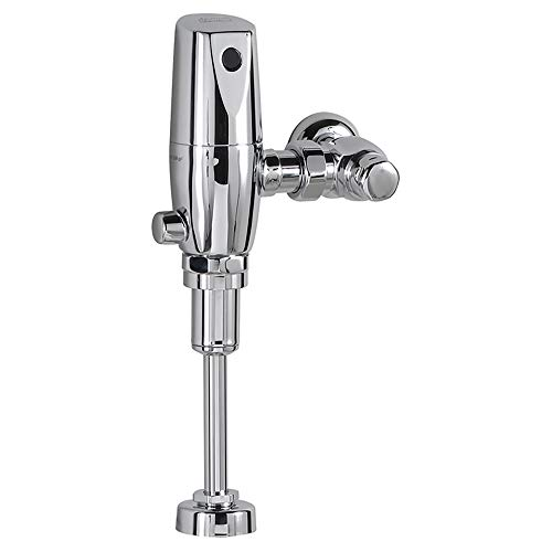 American Standard 6063.101.002 Exposed Selectronic 3/4-Inch Top Spud Urinal Flush Valve, DC Powered, 1.0 Gpf, Polished Chrome