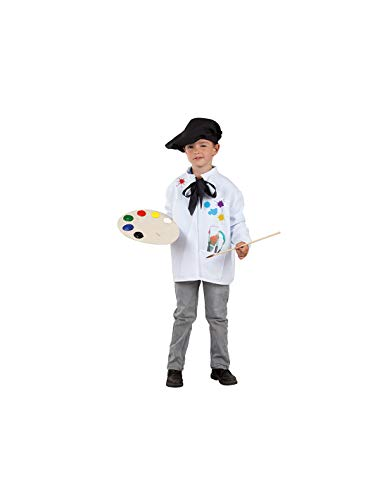 DISBACANAL Disfraz de Pintor Infantil - -, 6 años