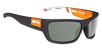 Spy Optic Dega Shield Sunglasses Happy Gray/Green 1.5 mm