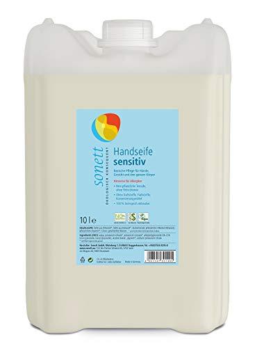 Handseife sensitiv: Basische Pflege für Hände, Gesicht und den ganzen Körper, 10 l