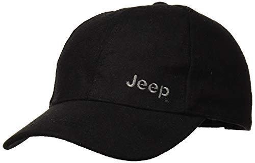 Jeep Gorra de béisbol para Hombre J8W, Negro, Talla única