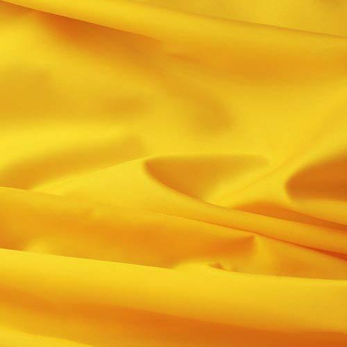 (2,99€/m) Seda Tafetán - 100% poliéster - Por metro - 27 colores (amarillo)