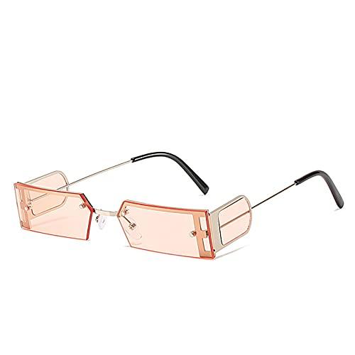 LUOXUEFEI Gafas De Sol Gafas De Sol Cuadradas Pequeñas Para Hombre Gafas De Sol Rectangulares Gafas De Sol Para Mujer