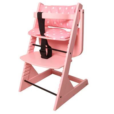en Bois Multifonctionnel Chaise de bébé | Chaise de Salle à Manger pour bébé | Portable Pliable Ergonomique Alimentation de bébé Chaise Haute