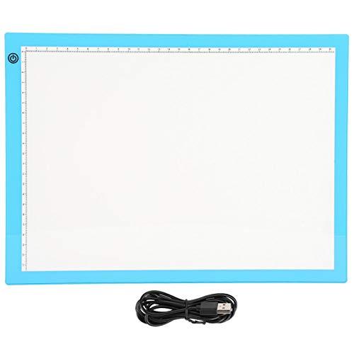 Yeelur Tableta de Dibujo LED portátil Brillante, práctica y protegida de la Vista Profesional, Tablero de luz LED, producción para Dibujar