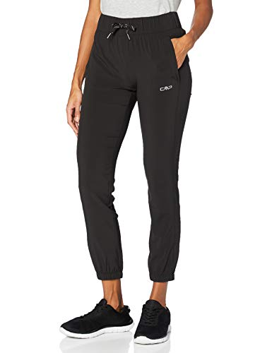 CMP Damen Stretch Trousers with Dry Function Technology Hosen, Black, D40
