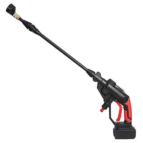 Liuxiaomiao hogedrukwaterpistool Car Wash Gun multifunctionele accu-hogedrukreiniger reinigingspistool waterslang sproeipomp voor het wassen / gieten van gazon en tuin