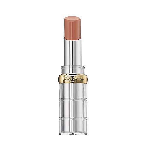 L'Oréal Paris Color Riche Shine 656 Beige in the City, pflegender Lippenstift für intensive Farbe und natürlichen Glanz