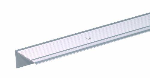 GAH-Alberts 484002 Treppenkanten-Schutzprofil - Aluminium, silberfarbig eloxiert, 1000 x 45 x 23 mm