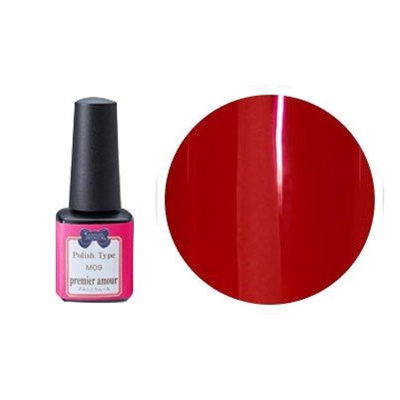 家族臭い終了するリーフジェル プレミアム ポリッシュタイプ カラー M03 アムール 5g