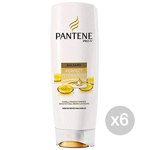 Pantene Set 6 Baumes Perfect Hydration ML 200 Soin et Traitement des Cheveux, Multicolore, Unique