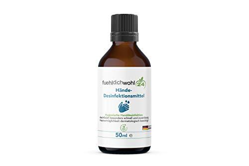 Desinfektionsmittel für Körper und Hände Zur hygienischen und schnellen Händedesinfektion Hautverträglichkeit dermatologisch bestätigt gebrauchsfertig 50ml