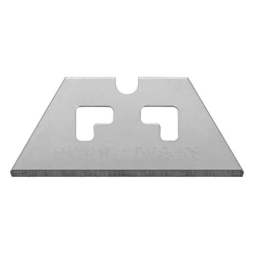 Pacific Handy Cutter SP017 Safety Point Blade for PHC Safety Cutters, Pack of 100, Sharp Edge, Safety Point Razor Blades for Injury Reduction, Cuts Boxes, Cardboard, Tape, Plastic Straps, and More