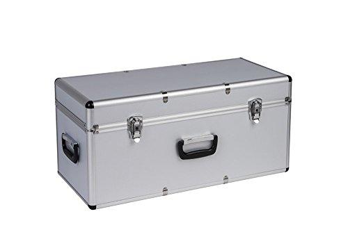 Kreher Transportkoffer Aluminium/ABS, Größe mittel 65 Liter Volumen, hochwertig, schlagfest & ölbeständig,