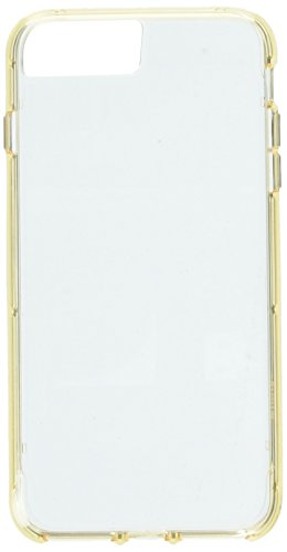 Griffin Survivor - Funda para iPhone 7+ / Dual, Color Oro Transparente