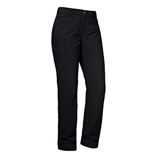 Schöffel Damen Pants Santa Fe WP Hose, Black, 48
