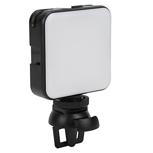 Luz de Video LED, Luz de Relleno LED portátil, Mini iluminación de Video USB, 2500K-6500K Regulable, Luz de fotografía a Prueba de Agua IP65 para transmisión de Video en Vivo Vlog