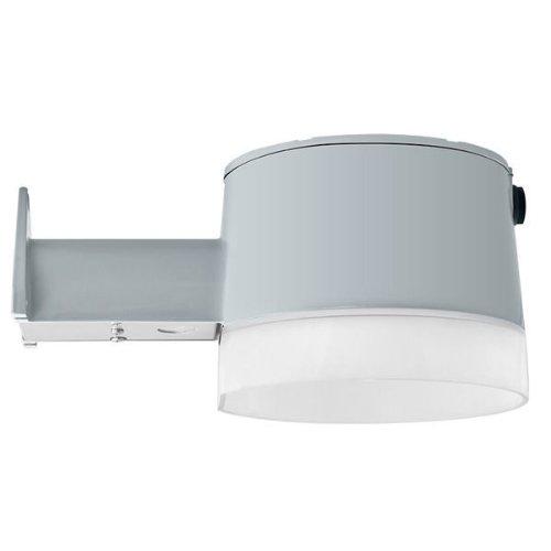 Rab YBLED26 YBLED Series LED Yardblaster Light Fixture 26 Watt 120 Volt 5000K Wallmount Silver Gray