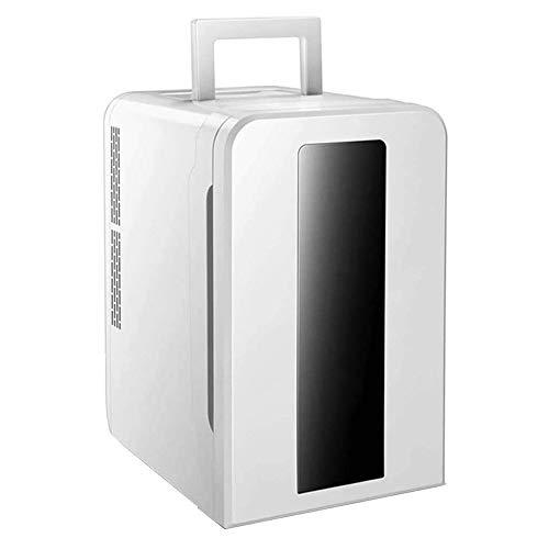 LZCYN Mini Refrigerador del Coche De Bebidas Cerveza Refrigeración En El Armario Portátil De Casa Apto For Rack Uso De La Familia De Coches Compartida Oficina De Cristal Desmontable