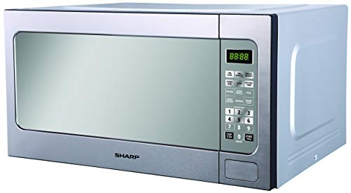 Sharp R-562Ct(St) 1200W 62-Liter Stainless Microwave Oven, 220V (Not for USA)