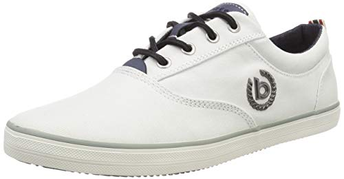 bugatti Herren 321502046900 Sneaker, Weiß (Weiß 2000), 43 EU