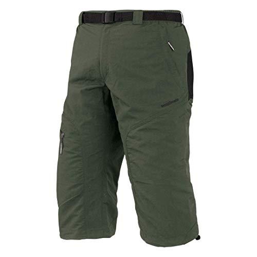 Trango Brood Sn Corsaire 3/4 Homme, Kaki/Marron Oscuro, FR : L (Taille Fabricant : L)