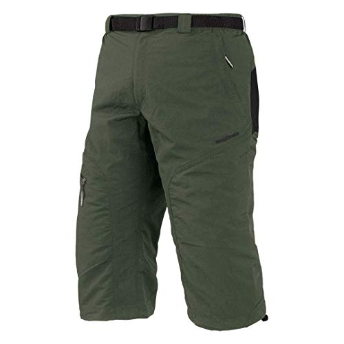 Trango Brood Sn Corsaire 3/4 Homme, Kaki/Marron Oscuro, FR : M (Taille Fabricant : M)