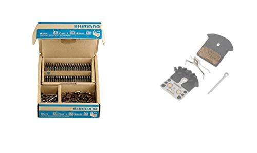 SHIMANO M9000/M8000 Met.Ref Pastillas de Freno, Unisex Adulto, Gris, Talla Única