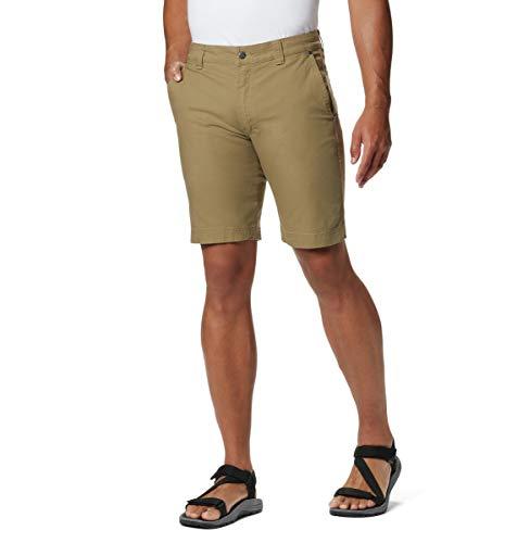 Columbia Flex ROC Short Pantalones Cortos de Senderismo, Flax, 50 ES Regulär para Hombre