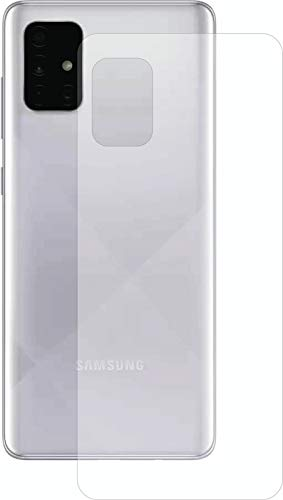 Cassby Back Protector for Samsung A71 Premium Screen Protector Full Coverage Case Friendly PET Flexible TPU Film