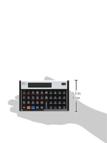 HP(ヒューレット・パッカード)『HP12cPlatinumFinancialCalculator(#F2231AA)』