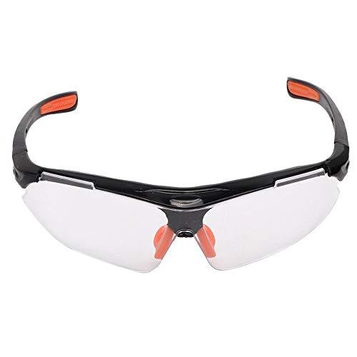 ASHATA Beschermende veiligheidsbril Veiligheidsbril voor laboratoriumwerkplaats Outdoor, Outdoor Beschermende veiligheidsbril Oogbeschermingsbril Transparante lens Blokkerende bloedspatten