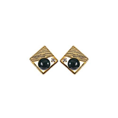 GaYouny Earings Pendientes De Plata Esterlina S925 Pendientes De Diamante For Mujer For Mujer Día De San Valentín For Joyería De Novia