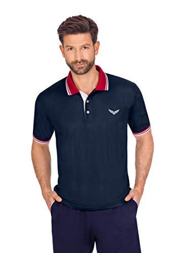 Trigema 644621120 T-Shirt, Bleu Marine, L Homme