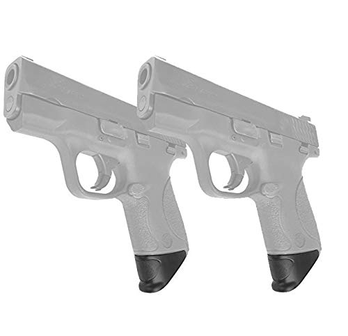"""AmeriGun Club 2 Packs Grip Extension for Smith & Wesson M&P Shield 9mm and 40 Caliber 1"""" XL Extra Long (2 Packs)"""