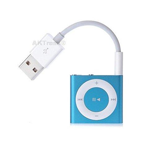 aktrend Original USB Kabel Für iPod shuffle der 1./2./3./4. und 5. Generation, USB-Kabel/Ladekabel/Datenkabel Für Apple iPod shuffle AK-SH-01