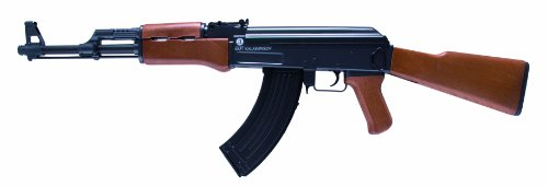 Softair Gewehr 202229 Kalashnikov AK 47 wood Kaliber 6 mm Federdruck < 0.5 Joule
