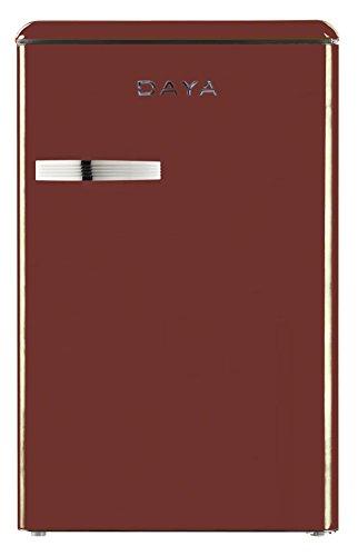 Daya Home Appliances DFTV-114HTB Vintage Red Wine Frigorifero Tabletop
