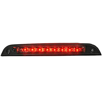 Spec-D Tuning Smoke Lens 3Rd Brake Lamp LED Tail Light for 2000-2004 Ford Focus Hatchback Taillight Assembly