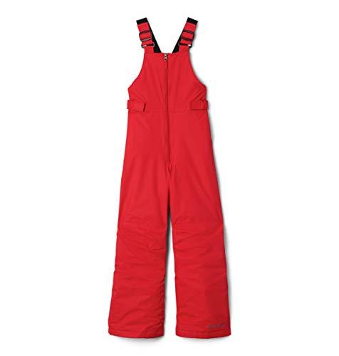 Columbia Kids' Toddler Snowslope Ii Bib Snowpant, mountain red, 4T