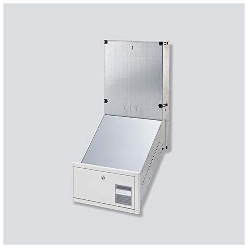Siedle&Söhne DW-Briefkasten-GEH. Video GU CL BD2V130 01 B-0 Classic, Stahlbl. vz Systemneutral Montageelement für Türstation 4056138007943
