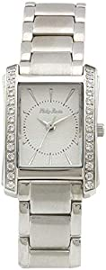 Philip Persio Women's White Dial Steel Band Watch [H9AHL0179]