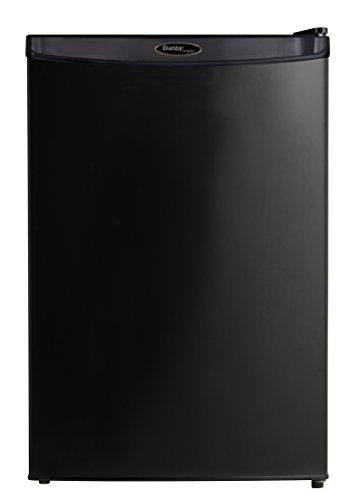 Danby Designer DAR044A4BDD-6 4.4 Cu.Ft. Mini Fridge, Compact Refrigerator for Bedroom, Living Room, Bar, Dorm, Kitchen, Office, E-Star in Black